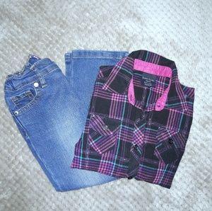 💥 Children's Place Bootcut Jeans
